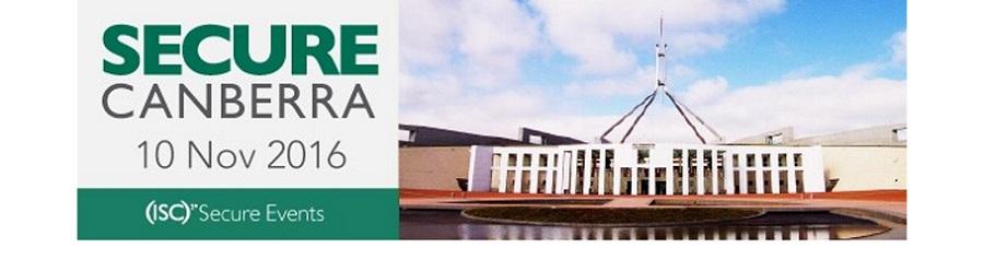 (ISC)² SecureCanberra@MilCIS 会议将于2016年11月10日在澳大利亚堪培拉国家会议中心召开!(ISC)²会员尊享免费参会,敬请关注!