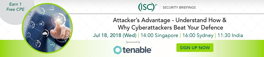 (ISC)² APAC Webinar: Attacker's Advantage – Understand How & Why Cyberattackers Beat Your Defence