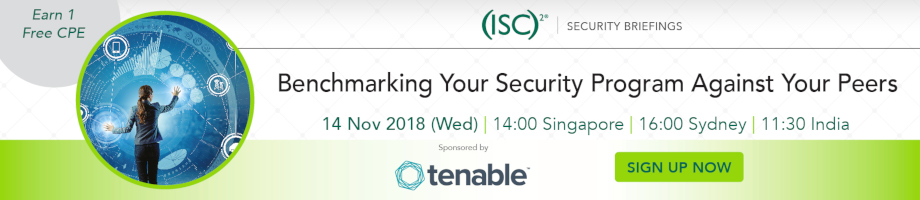 (ISC)² APAC Webinar: Benchmarking Your Security Program Against Your Peers